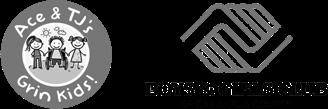 Ace & TJ's Grin Kids Logo &  Boys & Girls Club of Cabarrus County Logo