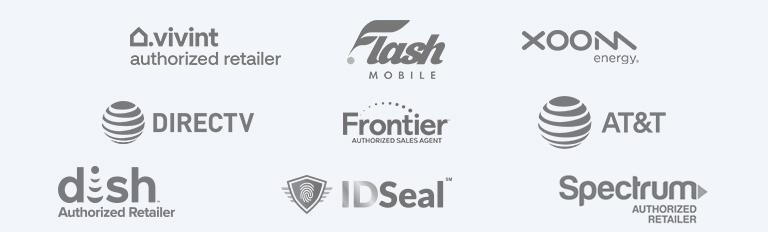 Home Service Utility Partner Logos