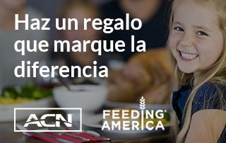 Con cada cliente, alimentamos a un niño