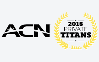 ACN Recognized on Inc. Magazine's List of 1,000 Private Titans in American Business