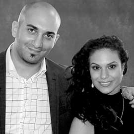 Sinan and Angelik Abu-Aisheh