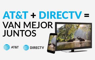Combina el servicio de Internet de alta velocidad de AT&T con DIRECTV hoy ¡para obtener ahorros inigualables!