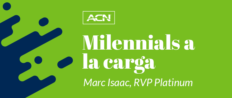 Milenials a la carga: Marc Isaac