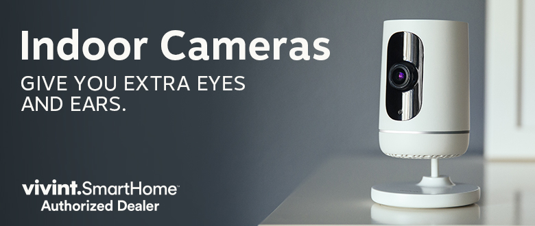 Indoor cameras give you extra eyes and ears.