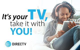 Take DIRECTV with you on the DIRECTV App!