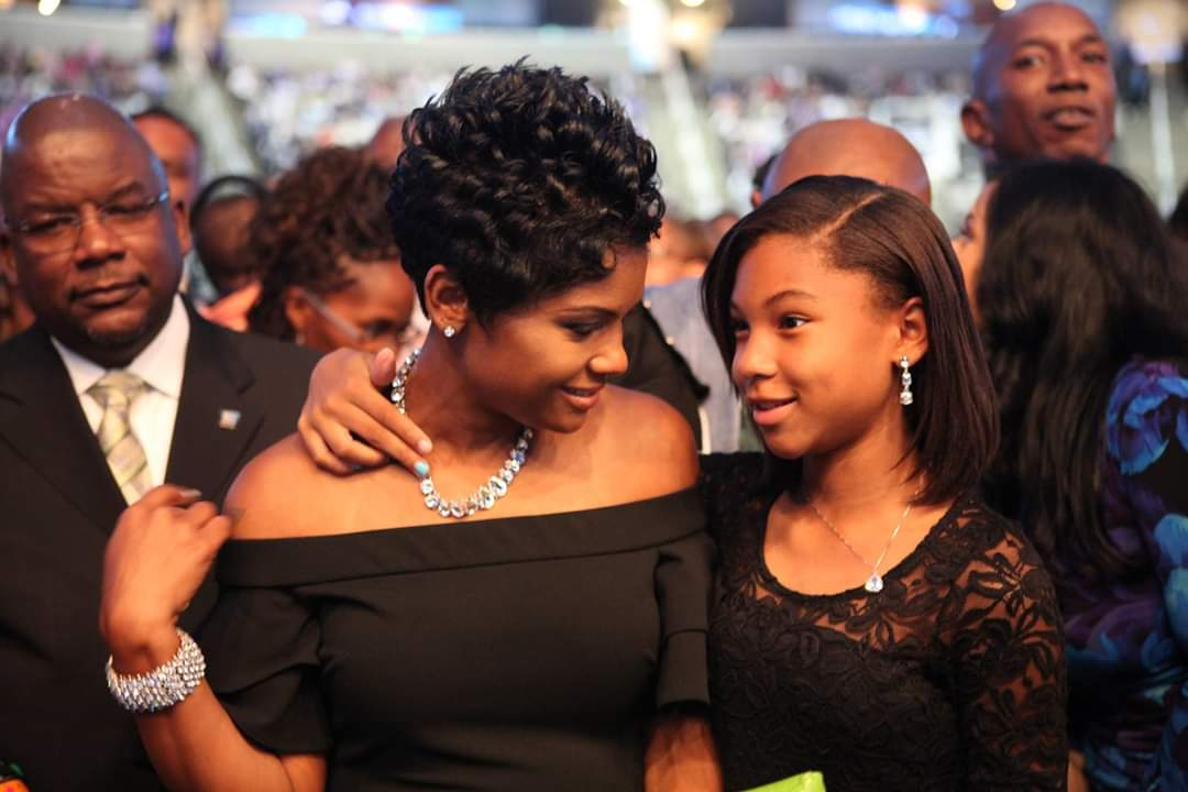 Chanelle Burt and daughter