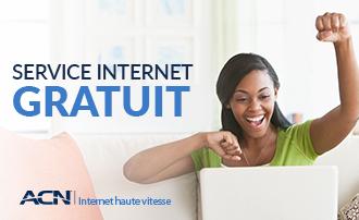 SERVICE INTERNET GRATUIT dans les territoires de Bell et Rogers (ON et QC)!