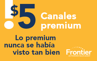 ¡Obtén canales premium por solo $5/mes cada uno!