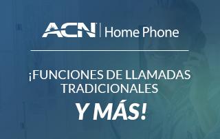 Servicio telefónico residencial de ACN: Funciones de llamadas tradicionales ¡y más!