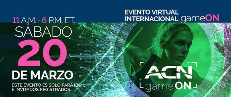 ¡El evento internacional de gameON cambiará las reglas del juego para ACN y Flash!