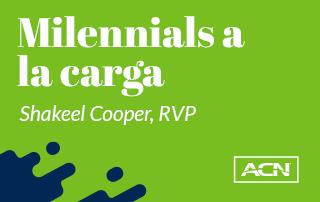 Milenials a la carga RVP Shakeel Cooper