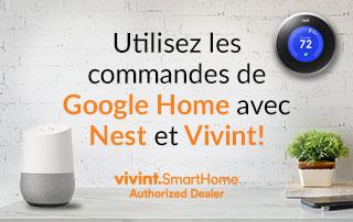 Utilisez les commandes de Google Home avec le thermostat Nest