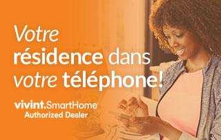 Votre résidence dans votre téléphone avec Vivint