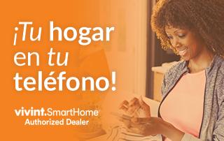 ¡Tu hogar en tu teléfono con Vivint!