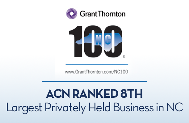 ACN Honored as One Of Top 100 Privately-Owned Businesses In North Carolina