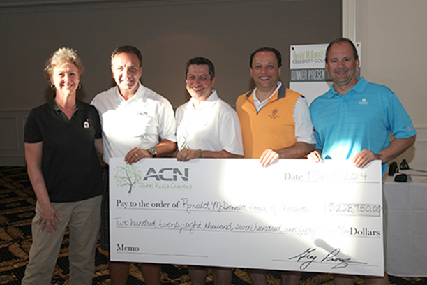 ACN Does it Again – Record breaking $228,750 raised at Annual Celebrity Golf Tournament