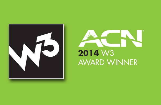 The ACN Reviews Are In: Company Awarded Six W3 Awards in 9th Annual Competition