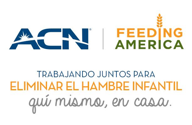 ACN, Inc. se asocia con Feeding America para combatir el hambre infantil a nivel nacional