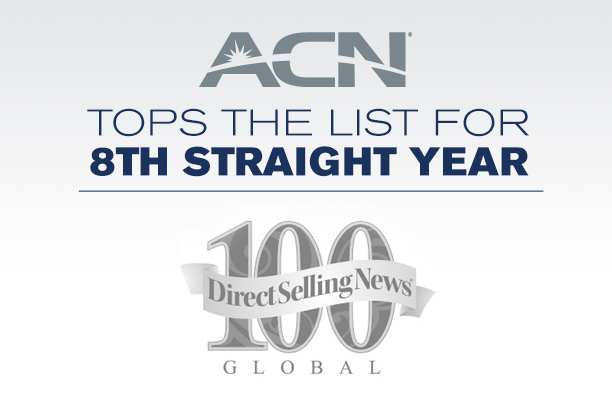 ACN, Inc. Ranked Among the Largest Direct Selling Companies in the World for 8th Straight Consecutive Year